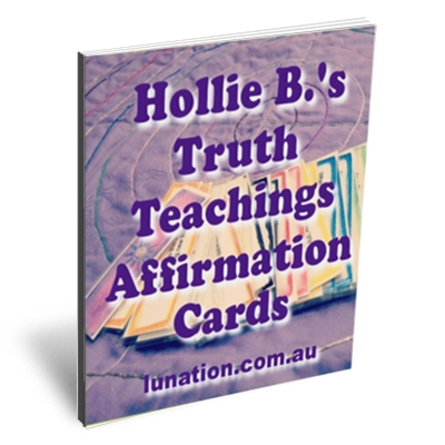 Truth Teachings Affirmation Cards | for the Clan Mother Journey Experience | Lunation