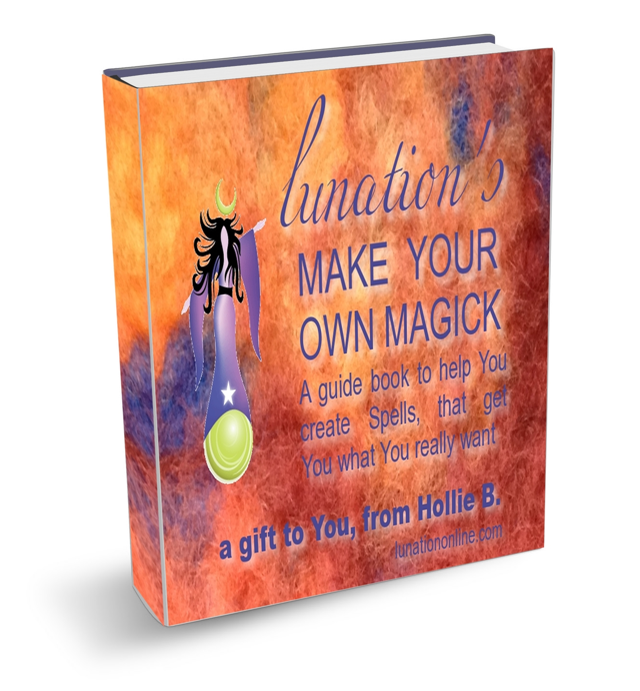 Lunations Make your Own Magick Guide Book