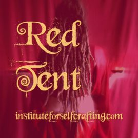Red Tent with Hollie