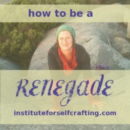 How to be a Renegade – #institutestyle