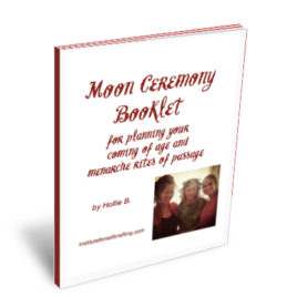 Moon Ceremony Booklet DOWNLOAD