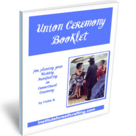 Union Ceremony Creation Workbook DOWNLOAD