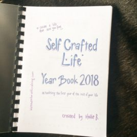 Self Crafted Life Year Book