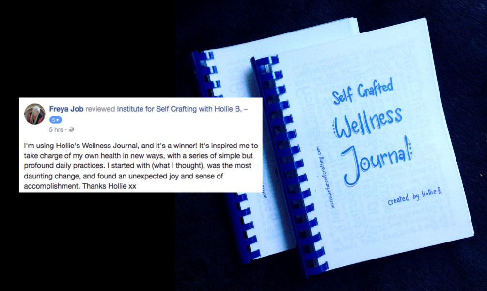 Self Crafting Wellness Journal