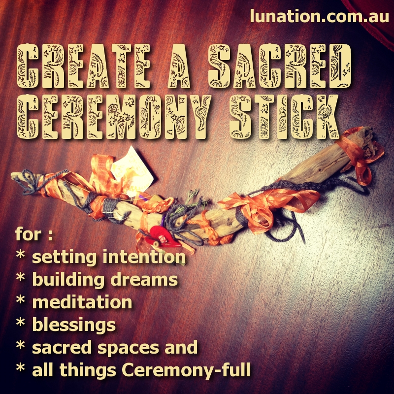 How to Make a Ceremony Stick | Hollie B. | Creating Sacred Spaces