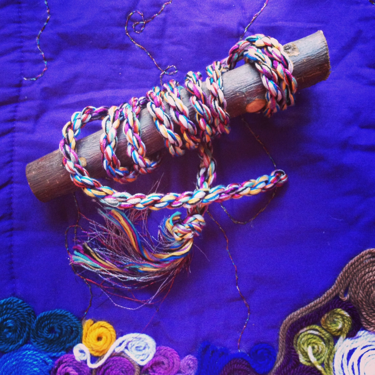 How to Make a Ceremony Stick   Hollie B. Lunation   Creating Sacred Spaces