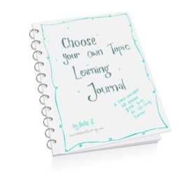 Learning Journal (for homeschoolers and life-long learners)